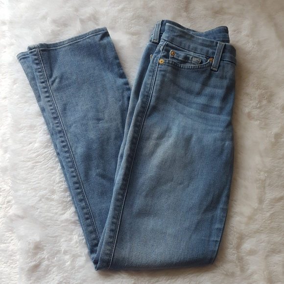 7 For All Mankind Denim - 7 For All Mankind Light Wash Jeans